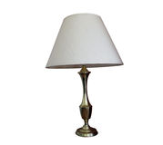 Brass table lamp Royalty Free Stock Photo