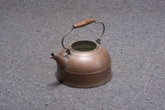 Brass Tea Pot Stock Photography