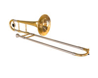 Brass Trombone Stock Photos