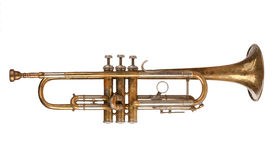 Brass Trumpet Stock Photo