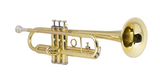 Brass Trumpet Royalty Free Stock Images