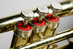 Brass Valves stock image