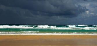 Brassage de tempête Photographie stock