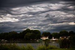 Brassage de tempête Photo libre de droits