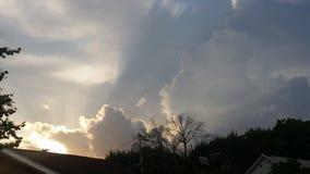 Brassage de tempêtes Images libres de droits