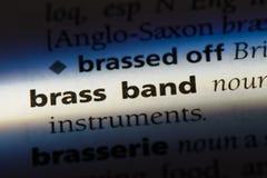 brassband 免版税库存图片