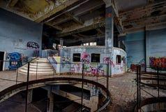 Brasserie abandonnée Images libres de droits