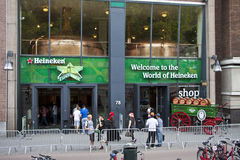 Brasserie Amsterdam de Heineken photos libres de droits
