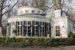 Brasserie De Koepel. NETHERLANDS - VOORBURG - CIRCA DECEMBER 2014: Brasserie De Koepel Stock Images