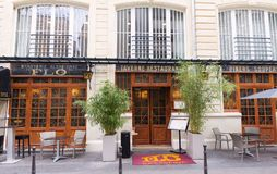 Brasserie Flo is the jewel in the crown of resurrected Art Nouveau brasseries, Pari, France. stock images