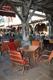 Brasserie terrace in France Royalty Free Stock Photography