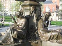 Brasseur Fountain, terrain communal de Boston, Boston, le Massachusetts, Etats-Unis Photos stock
