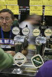 Brasseurs du festival britannique grand de bière Photo libre de droits