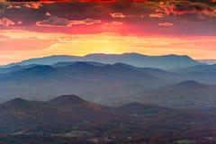 Free Brasstown Bald, Georgia, USA View Of Blue Ridge Mountains In Autumn Stock Photos - 166590383
