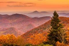 Free Brasstown Bald, Georgia, USA View Of Blue Ridge Mountains In Autumn Stock Image - 166590491