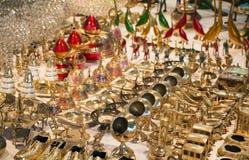 Brassware Imagen de archivo libre de regalías