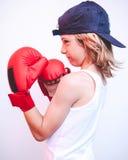 Brat child fighter Stock Photos