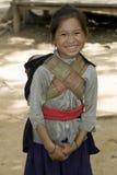 brat dziewczyny hmong Laos Obrazy Stock