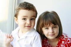 Brat i siostra Zdjęcie Royalty Free