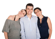 Brat i siostry zdjęcia stock