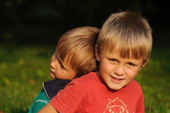 Brat miłość Zdjęcia Stock