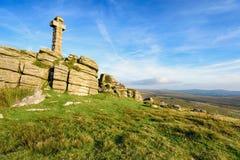 Brat Tor sur Dartmoor photos stock
