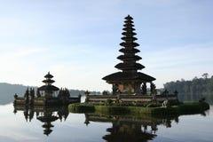 Brataan lake temple bali indonesia Stock Image