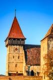 Brateiu fortified church, Transylvania, Romania Royalty Free Stock Image
