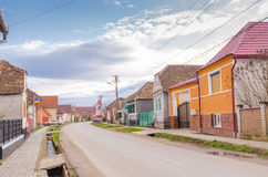 Brateiu village, Transylvania Stock Photos