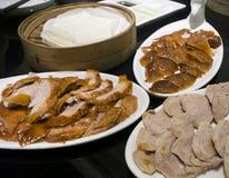 Braten-Ente in der China-Stadt Stockfoto