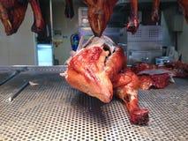 Braten-Ente in der China-Stadt lizenzfreies stockbild