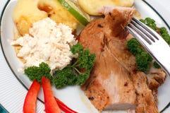 Braten-Fleisch Lizenzfreies Stockfoto