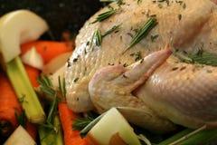 Braten-Huhn Stockfotos