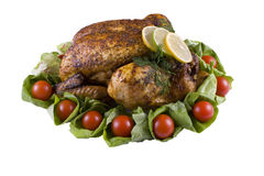 Braten-Huhn Lizenzfreies Stockbild