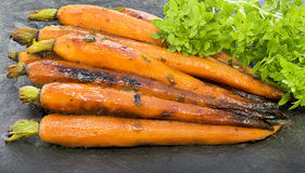 Braten-Karotten Lizenzfreie Stockfotos