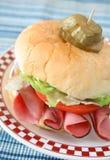 Braten-Rindfleisch-Sandwich Stockfotografie