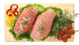 Bratenkalbfleisch Stockbild