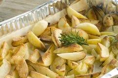 Bratenkartoffeln Stockfoto