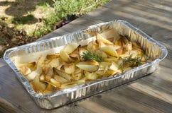 Bratenkartoffeln Stockfotografie