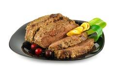 Bratenrindfleischfleisch Stockfotografie