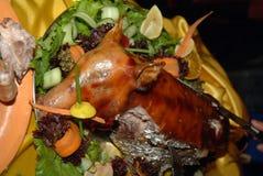 Bratenschwein Stockbild