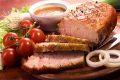 Bratenschweinefleisch   Lizenzfreies Stockfoto