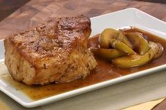 Bratenschweinefleischzartes lendenstück Lizenzfreies Stockfoto