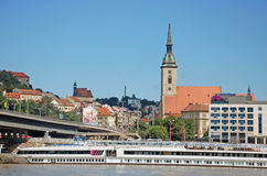 Bratislava Foto de Stock Royalty Free