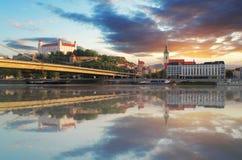 Bratislava Obraz Royalty Free