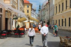 Bratislava Arkivfoto