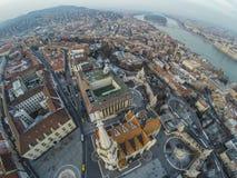 Bratislava from above Stock Image