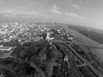 Bratislava from above Stock Photography