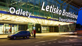 Bratislava airport. Stock Images