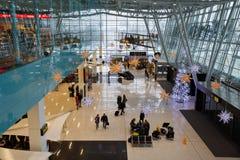 Bratislava airport. Royalty Free Stock Photo